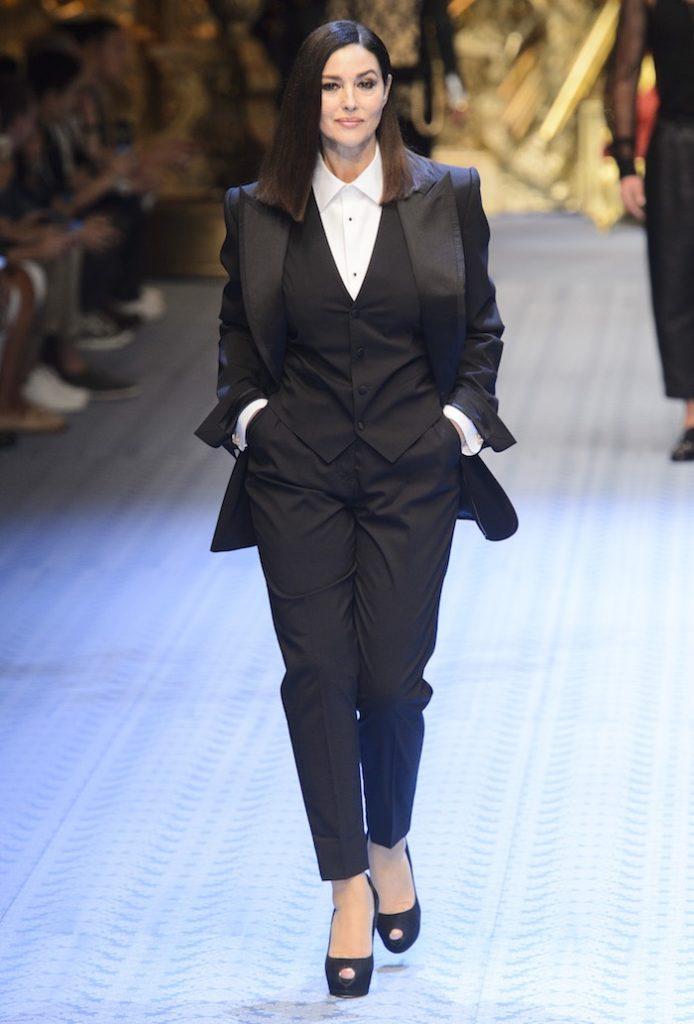 Monica Bellucci Sfilata Dolce&gabbana SS 2019