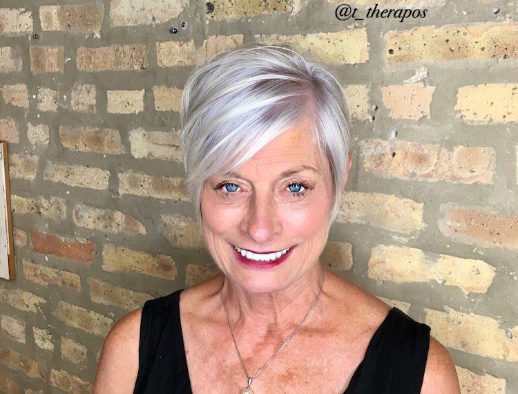 capelli grigi argento 2018