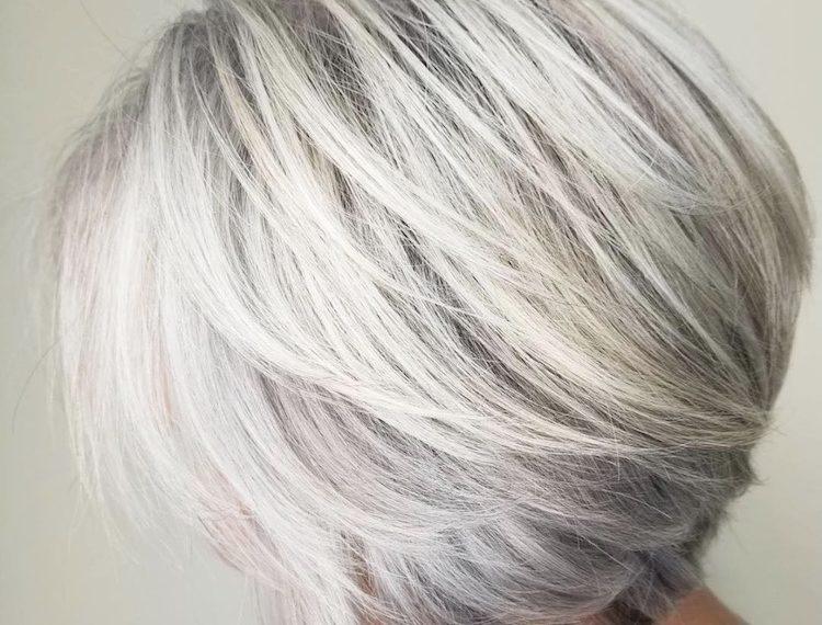 tagli capelli grigi 2018 2019
